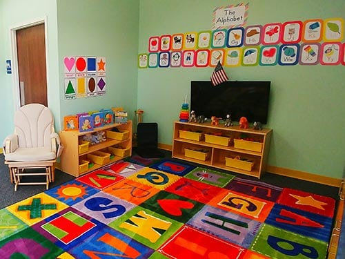 Classrooms Infant Toddler