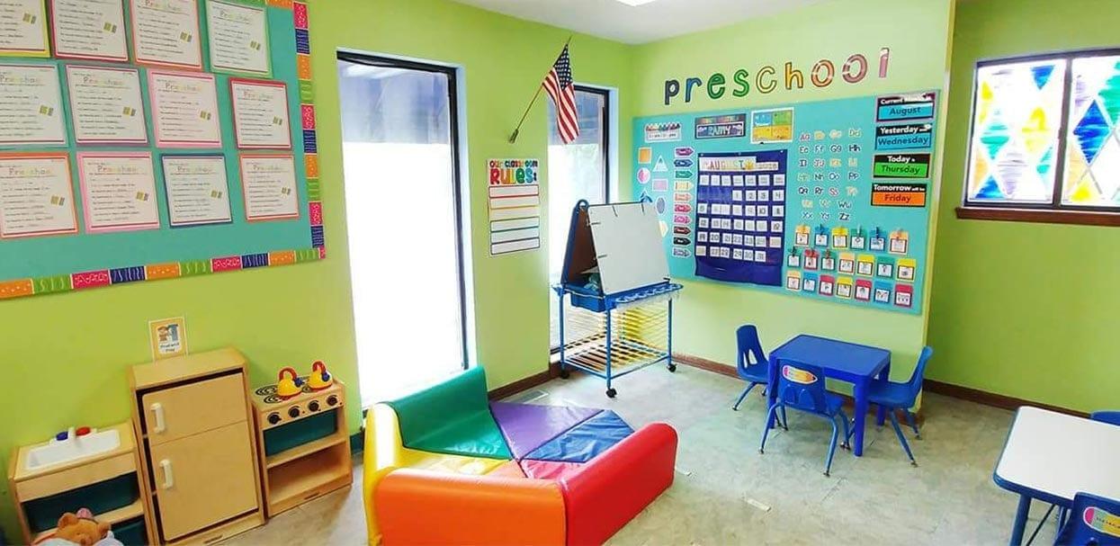 Lindenwood Preschool Room