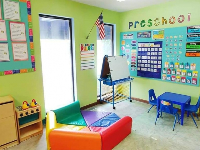 Lindenwood Preschool Room