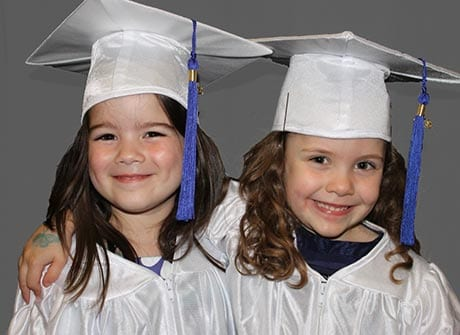 Pre Kindergarten Graduation Girls