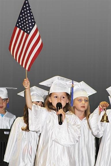 Kiddi Kollege Graduation Flag